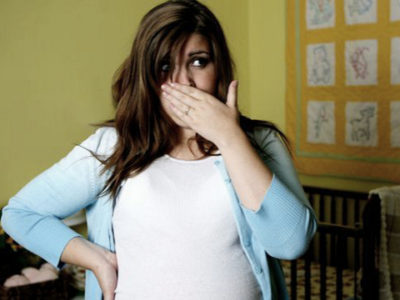 Беременность как причина кома в горле