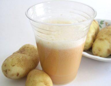 Картофельный сок при гастрите