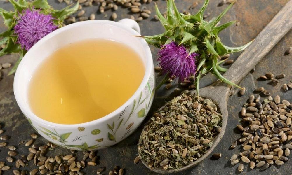 Чай из расторопши применяется для активизации выработки ферментов железы