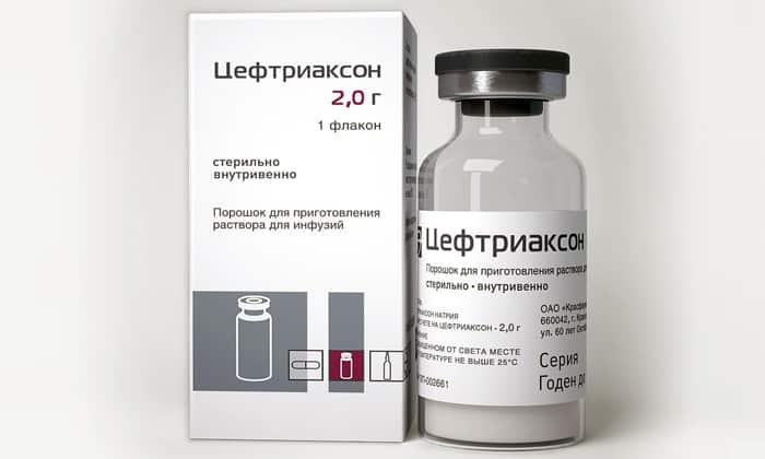 Чаще всего при холецистопанкреатите применяют препарат Цефтриаксон