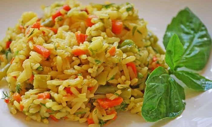 В пятницу на ужин можно съесть ризотто с овощами