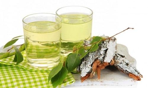 При остром панкреатите больному можно пить березовый сок