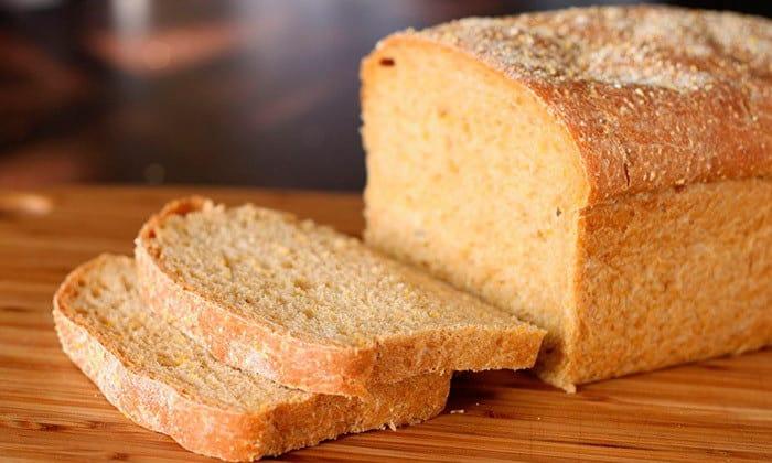 Рекомендуется хлеб вчерашней выпечки