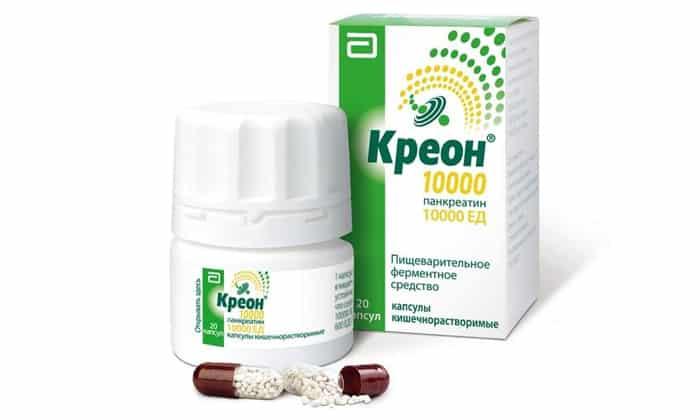Креон препарат ферментов поджелудочной железы