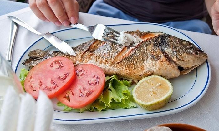 Полезно употреблять нежирную рыбу