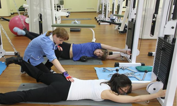 Первые тренировки проводятся под контролем инструктора, т.к. необходимо рассчитать интенсивность безопасной нагрузки
