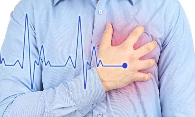 Учащенное сердцебиение один из симптомов
