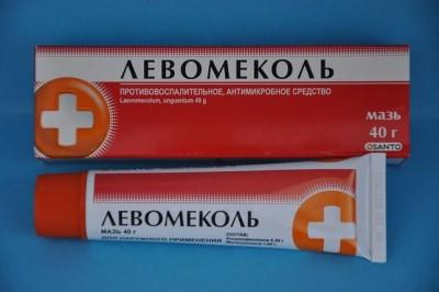В составе Левомеколя присутствует такой компонент, как хлорамфеникол, который крайне не рекомендован детям младше 7 лет