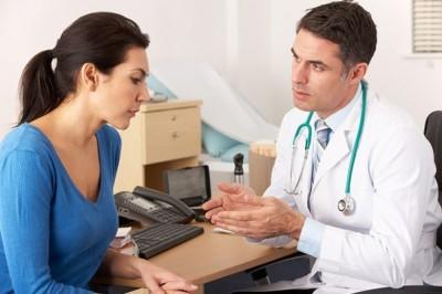 Первое действие больного связано с посещением врача для прохождения диагностических мероприятий