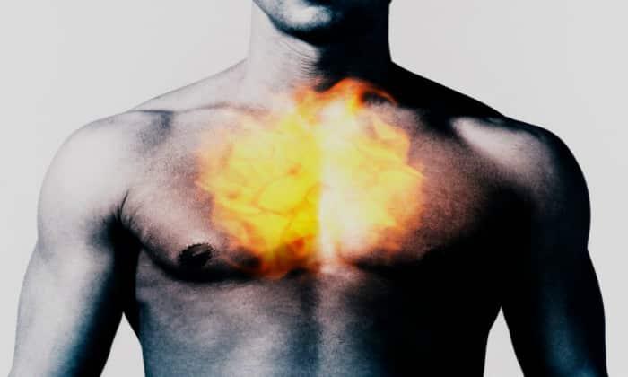 Изжога возникает по причине неправильного питания