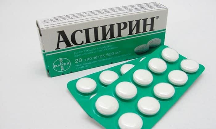 Справится с признаками алкогольного отравления поможет Аспирин