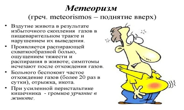Основным симптомом язвы желудка и 12-перстной кишки можно считать метеоризм