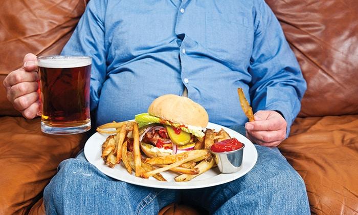 Запор может возникнуть из-за неправильного питания