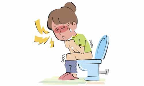 В основном больные жалуются на частую смену стула (понос и запор)