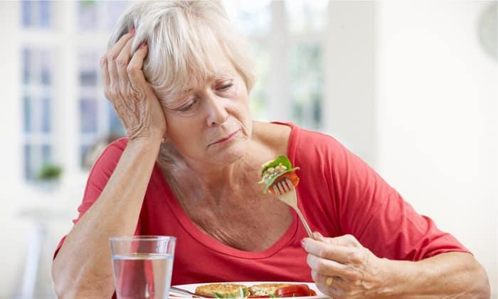 Один из симптомов, это ухудшение аппетита