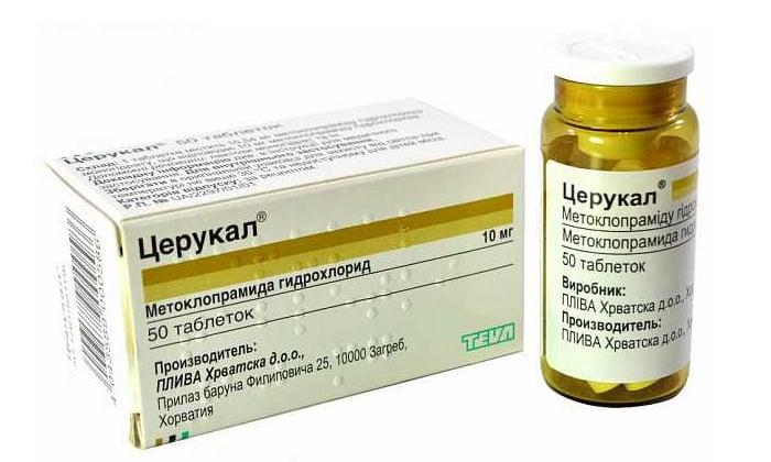 Для нормального процесса усвоения пищи и уменьшения количества забросов желчных кислот в желудок, применяют препарат Церукал