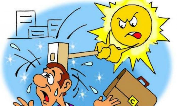 Еще тошнота и рвота может являться следствием солнечного удара, перегрева на солнце, то есть при гипертермии