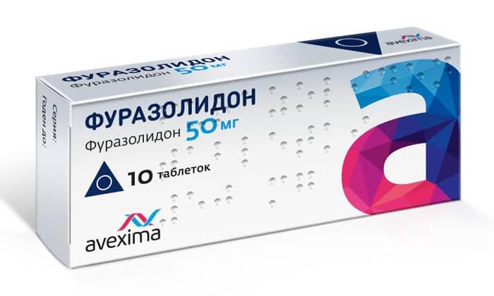 После того как диарея остановлена, необходимо принимать антибактериальные препараты. Для этого принимают Фуразолидон