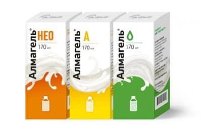 Современная фармацевтика предлагает широкий ассортимент антацидных средств, например, Алмагель