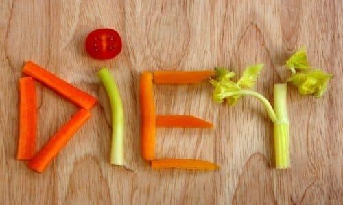 Назначается специальная диета, и питание обязательно должно быть дробным