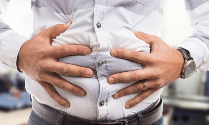 Вздутие брюшной полости, симптом запора