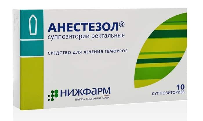 При выраженной боли и отсутствии аллергии на анестетики, рекомендуется ввести свечу с обезболивающим эффектом, например, Анестезол