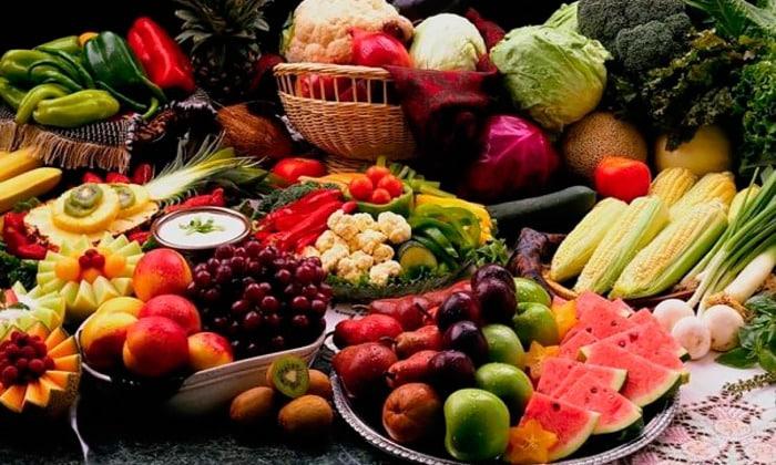 Фрукты и овощи должны быть в рационе
