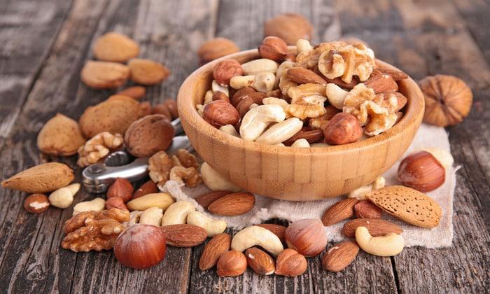 Орехи должны быть в рационе