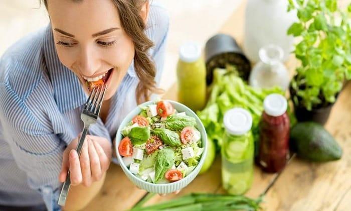Нужно придерживаться сбалансированного питания