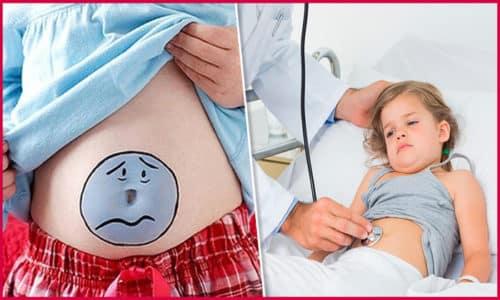 Родители должны обратить внимание на опорожнение ребенка и немедленно посетить врача, если есть жалобы на боль в животе