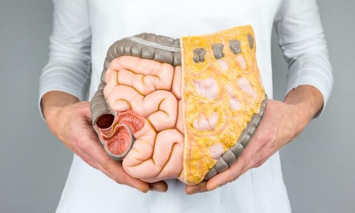 Тянущие боли могут возникать из-за проблем кишечника. В данном случае болевые ощущения могут передаваться в паховую и лобковую зоны. Также отдает в поясницу и низ живота