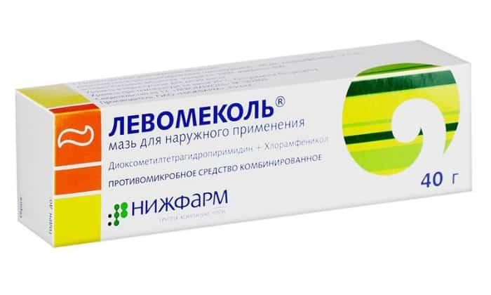 Самым распространенным и популярным лекарственным средствоми для лечения рассматриваемого заболевания является Левомеколь
