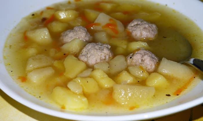Диета при таком заболевание включает в себя, мясной суп