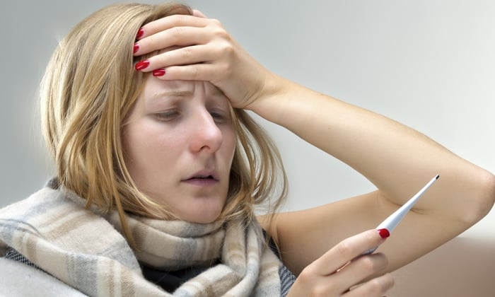 При эндометрите повышается температуры тела
