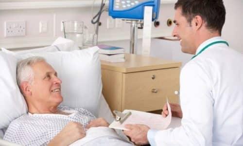 Терапия антибиотиками назначается при бактериальной инфекции. Острая форма недуга в преимуществе длится до недели, а пациента выписывают по исчезновению признаков