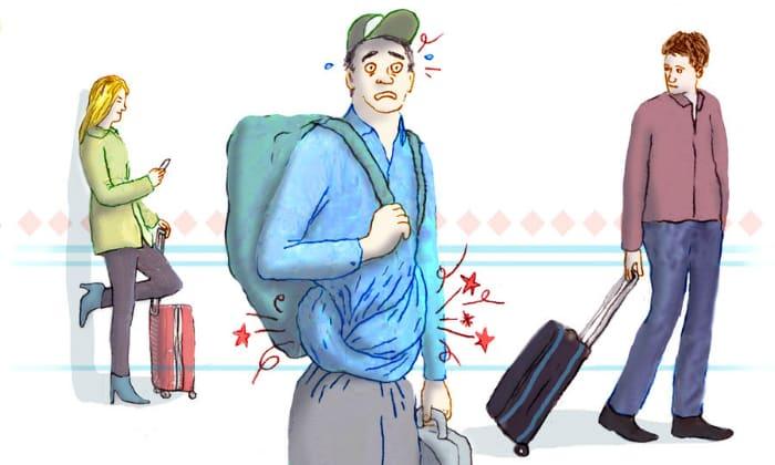 Понос путешественника, возникающий из-за резкой смены климата и рациона