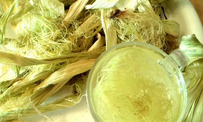 Для лечения гепатита подойдет отвар из кукурузных рылец