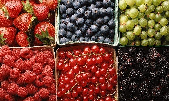 Сладкие ягоды можно есть при изжоге