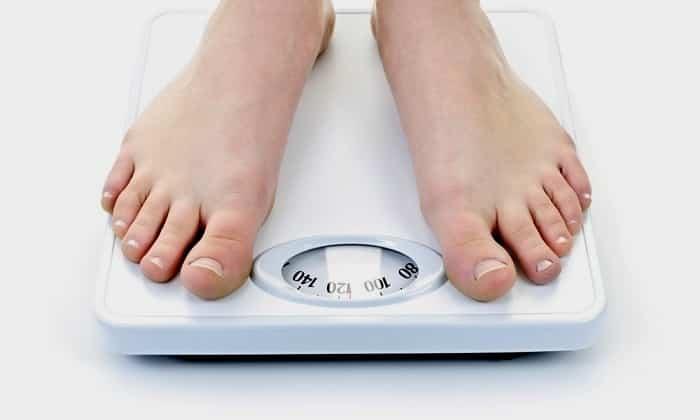 У человека может произойти потеря в весе