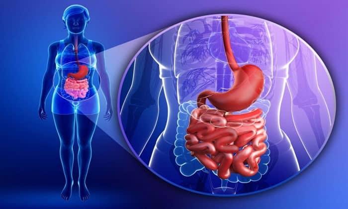 Причиной болей мжет быть нарушения в пищеварительной системе