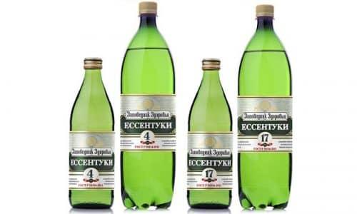 В комплексном лечении панкреатита используют минеральную воду Есентуки