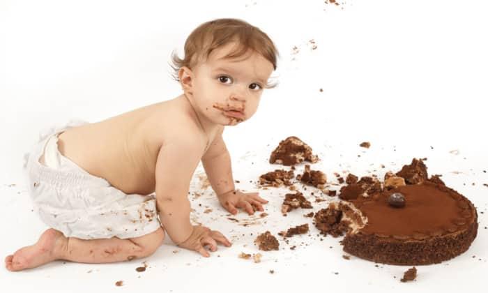 Цвет калла изменится, если малыш съест много сладкого