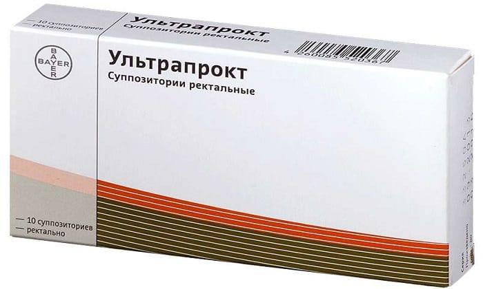 Ультрапрокт - противовоспалительный препарат, который назначают при геморрое