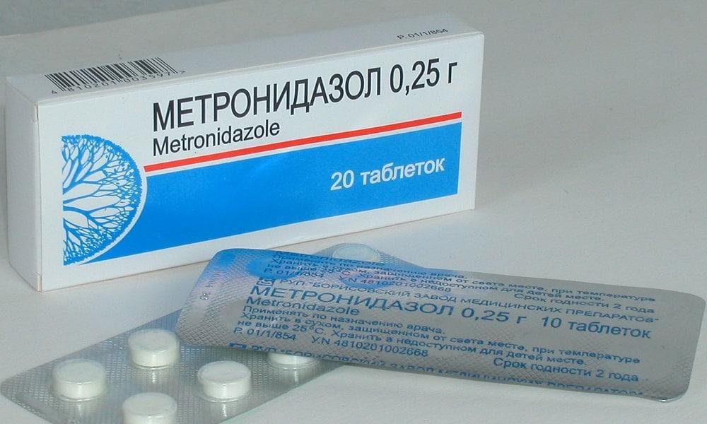 Метронидазол назначают при панкреатите