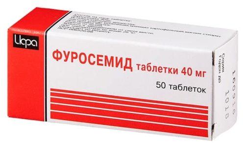 Ибупрофен снижает  активность препарата Фуросемид