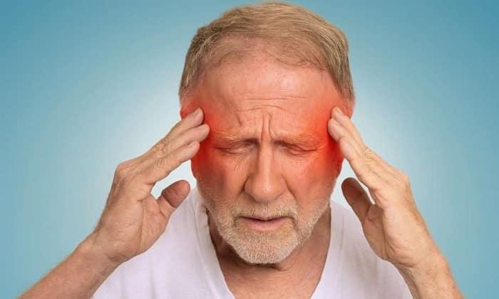 Применение Дротаверина может появится головная боль
