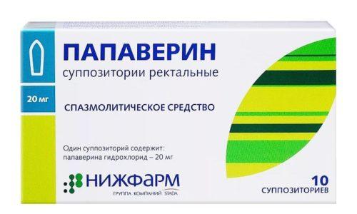 Препарат усиливает действие других спазмолитических препаратов, например, Папаверин