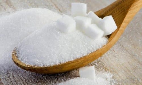 Следите, чтобы в рационе ребенка было не слишком большое количество сахара