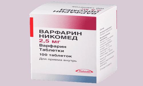 Парацетамол увеличивает эффективность  препарата Варфарин