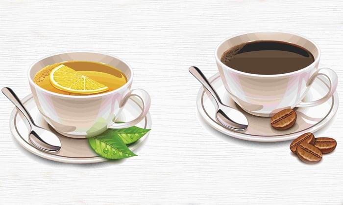 Из рациона нужно исключить крепкий чай и кофе